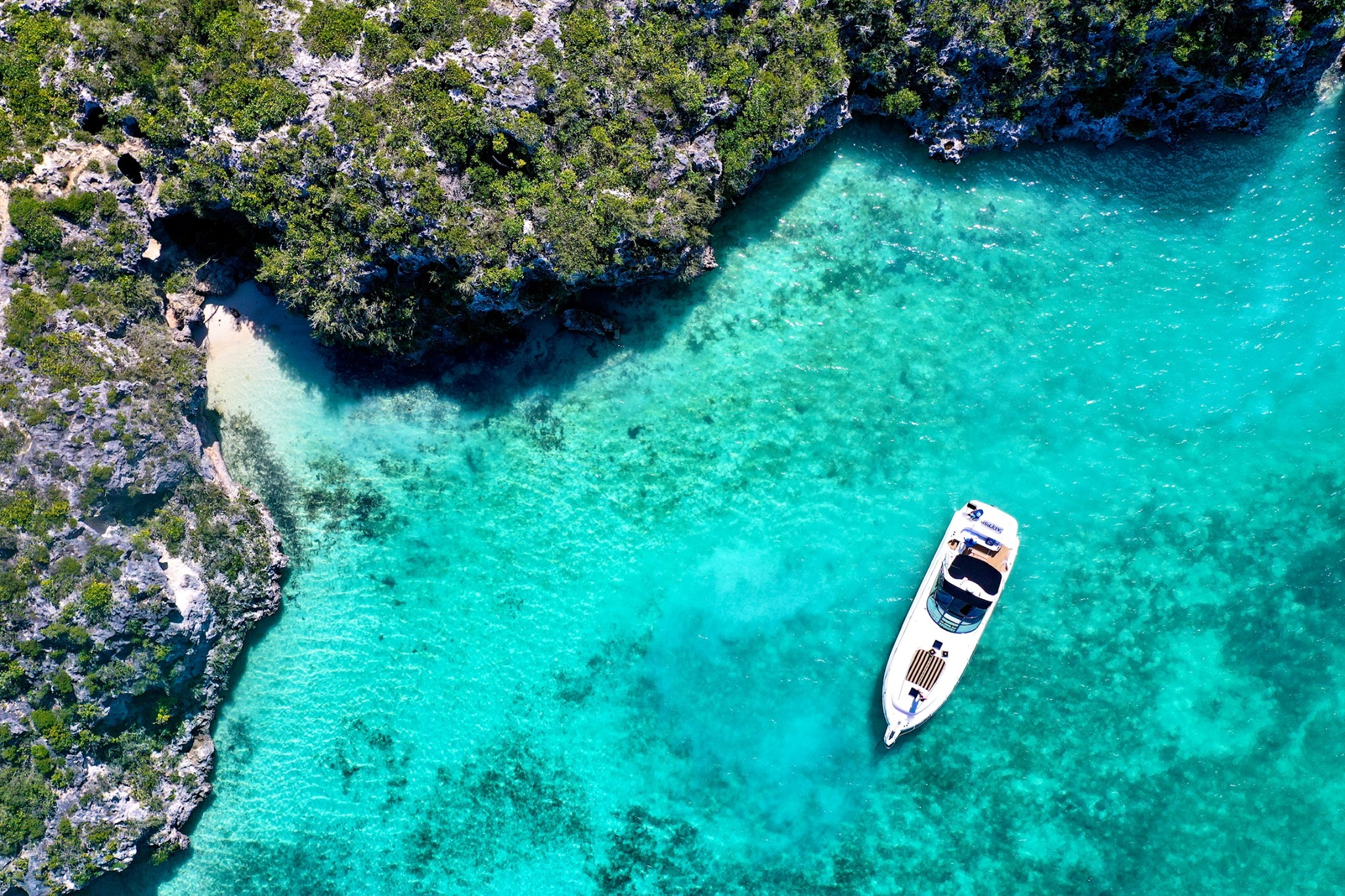 Poseidon island hopping boat trip