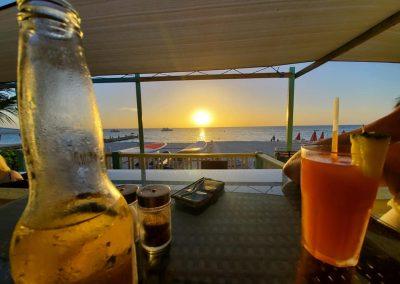 Sunset at Rickie's Bar Provo